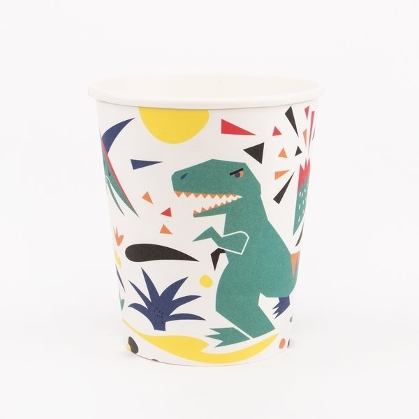 Picture of Paper cups-Dinosaur