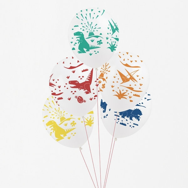 Picture of Printed balloons-Dinosaur