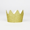 Picture of Crown party hats gold glitter