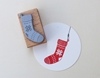 Picture of Rubber Stamp Knitting sock