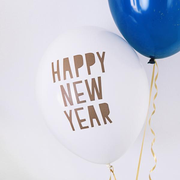 Happy New Year Balloons 17