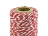 Picture of Baker's Twine -  Red and white (50m)