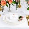 Picture of Place cards - Heart, rose gold