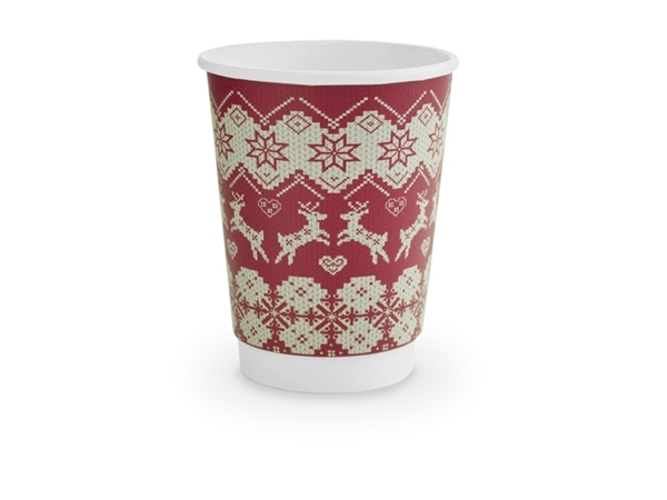 Picture of Paper cup in christmas design
