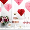Picture of Honeycomb Heart, red, 20cm