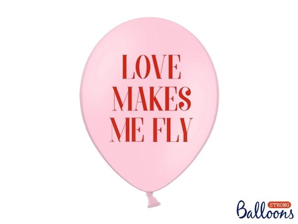 Μπαλόνια - Love makes me fly (σετ 6)