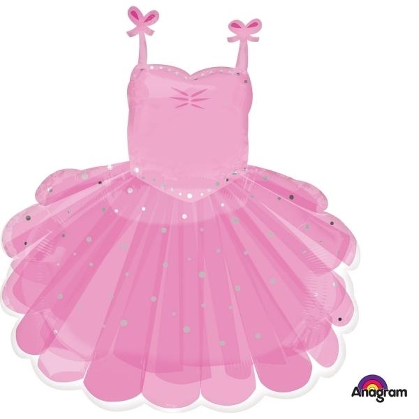 Μπαλόνι foil  φόρεμα Μπαλαρίνας