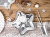 Picture of Paper Plates - Star silver (18cm)