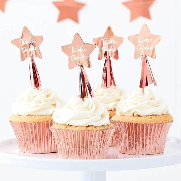 Διακοσμητικά για cupcakes-Twinkle twinkle
