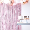 Picture of Matte pink curtain backdrop