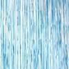 Γαλάζια ματ διακοσμητική κουρτίνα