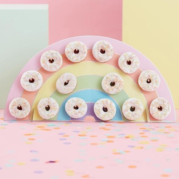Πίνακας για Donuts - Ουράνιο Τόξο