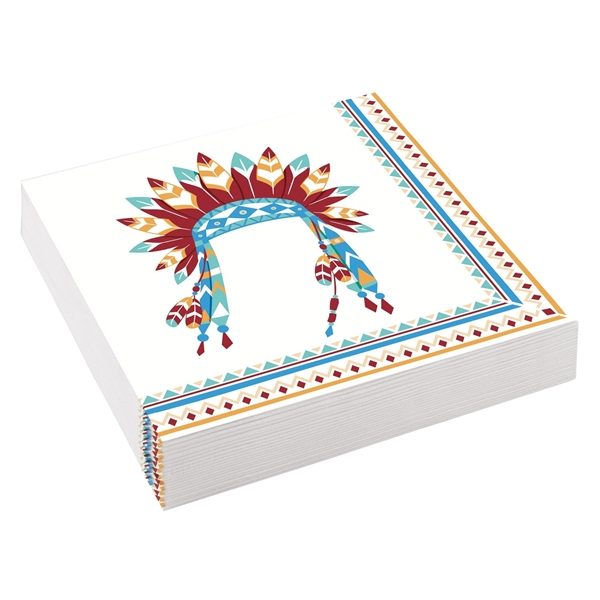 Picture of Paper napkins - Little Indians