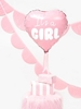 Picture of Foil Balloon Heart - It's a girl