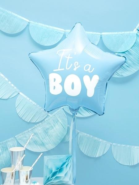 Μπαλόνι foil αστέρι - It 's a boy