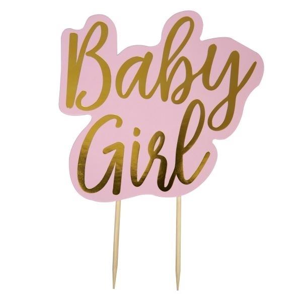 Διακοσμητικό για τούρτα - Baby girl