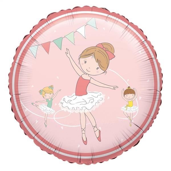 Picture of Foil balloon Ballerina