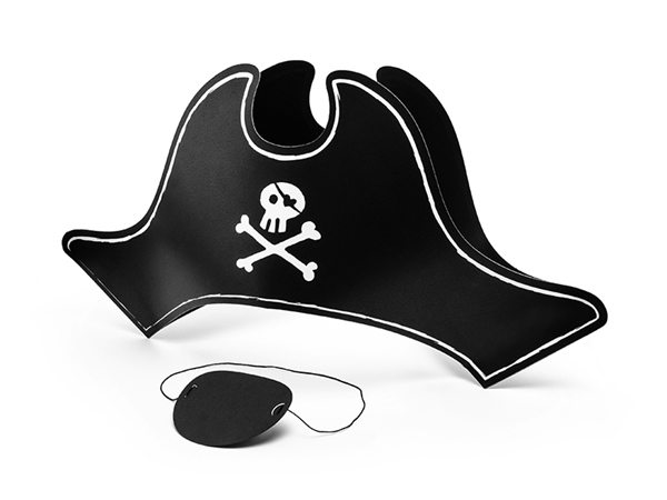Picture of Hat and Εyepatch - Pirate