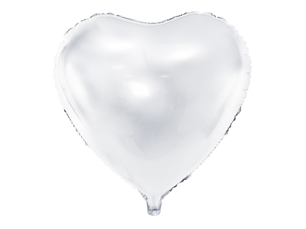 Picture of Heart Balloon -White