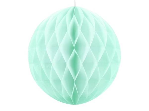 Picture of Ηoneycomb ball - Mint (20cm)