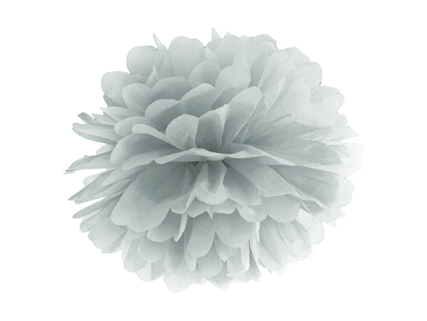 Picture of Pom pom - Silver (35cm)