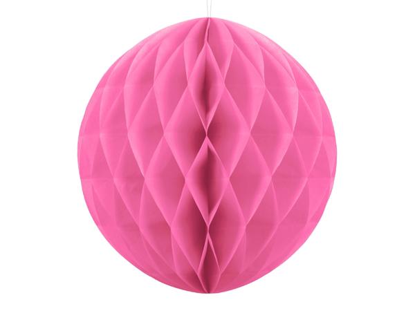 Χάρτινη μπάλα - Ροζ  (20εκ)