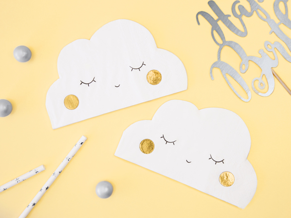 Picture of Napkins - Cloud shaped