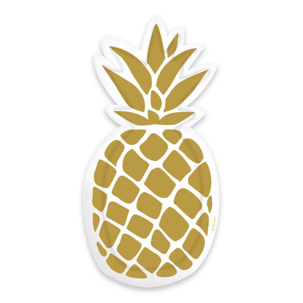 Picture of Paper plates - Pinapple