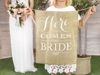 Picture of Aisle sign - Here comes the bride