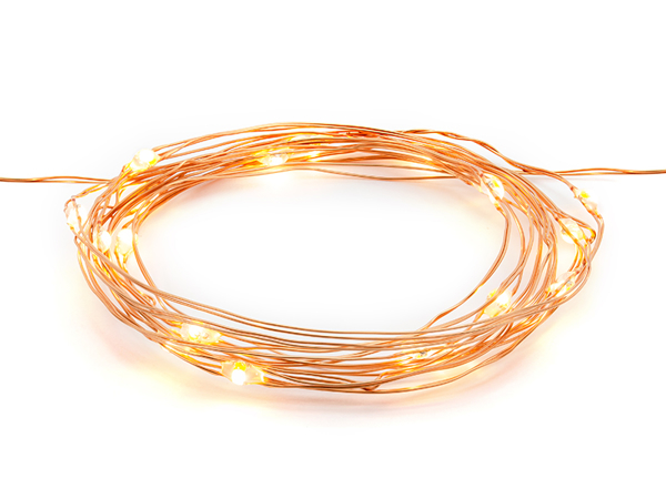 Picture of Rose Gold LED String Table Lights