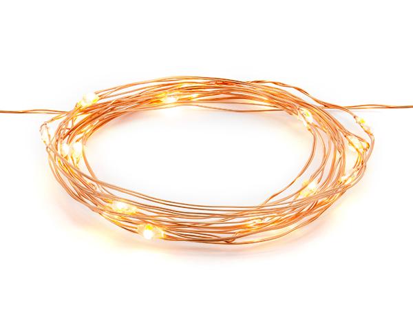 Επιτραπέζια φωτάκια (LED)-Rose Gold