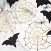 Διακοσμητικοί ιστοί αράχνης σε χρυσό