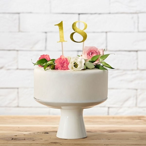 Picture of Gold Table Number (1-9)