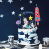Picture of Cake topper - Space