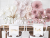 Picture of Chair signs Bride Groom white