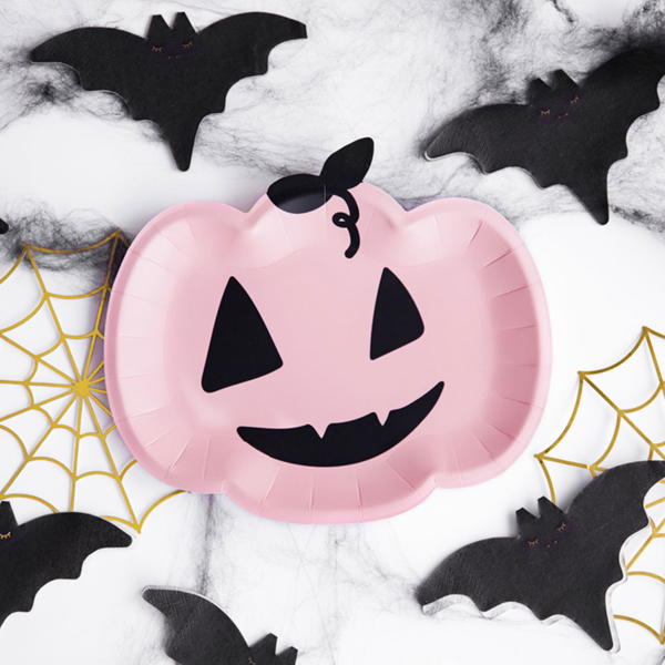Picture of Paper plates - Pumpkin