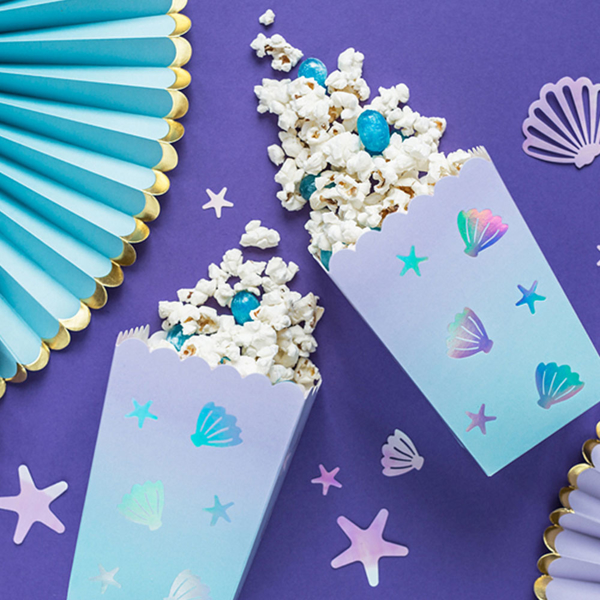 Picture of Pop corn boxes - Mermaid