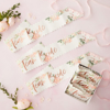 Picture of Team bride hen sashes 6 pack - Floral hen party