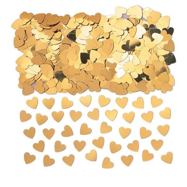 Picture of Gold heart scatter