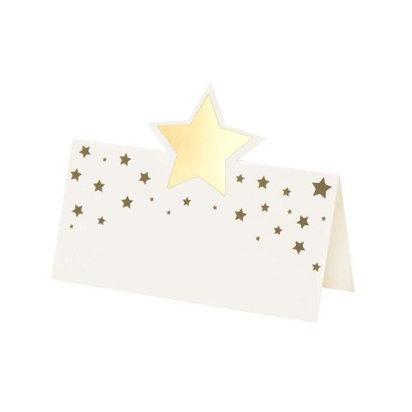 Picture of Placecards - Gold Stars