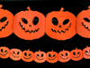 Picture of Tissue garland Pumpkins