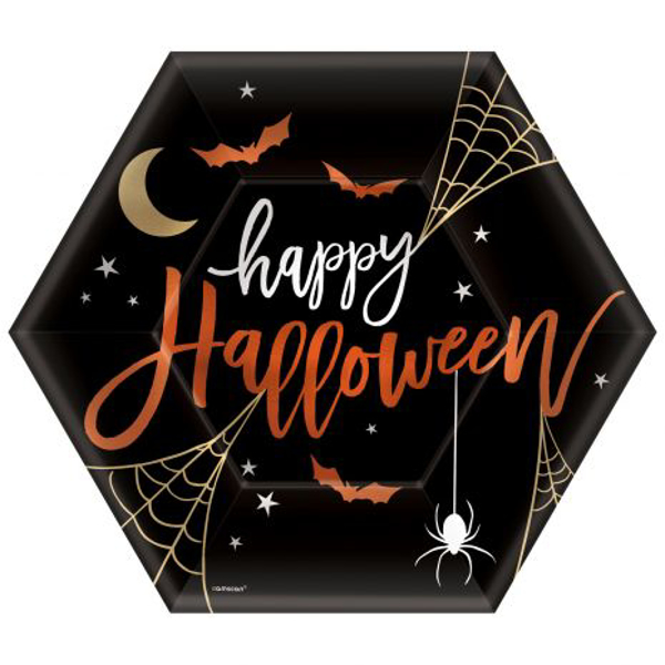 Picture of Paper plates -Halloween