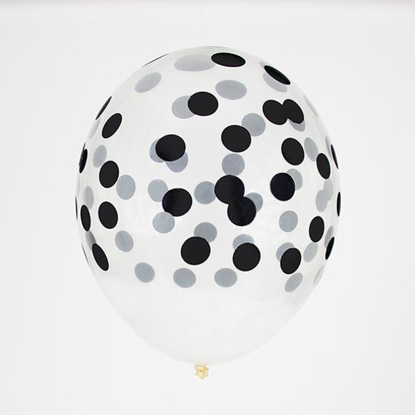 Picture of Balloons - Confetti black