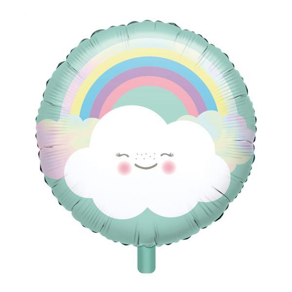Μπαλόνι foil Συννεφάκι με ουράνιο τόξο