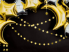 Γιρλάντα - Χρυσά αστεράκια