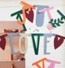 Letter Banner - Γιρλάντα με Γράμματα (boho)