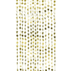Picture of Foil Star Backdrop Curtain Decoration - Gold