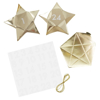 Picture of Christmas Advent Boxes - Gold stars