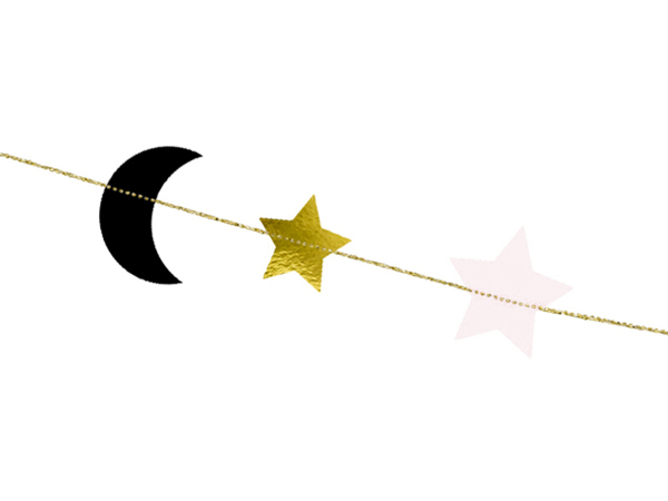 Picture of Garland - Stars and moons
