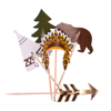 Διακοσμητικά sticks  - Indian Forest